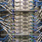Rack servidores organizado